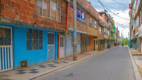 Barrio Suba Lisboa - Foto: Unidad Administrativa Especial de Rehabilitación y Mantenimiento Vial (UMV)