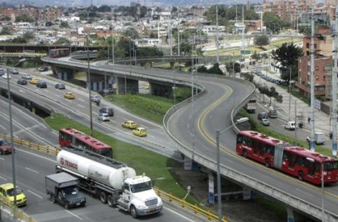 Vías Bogotá - Foto: Prensa Alcaldía Mayor de Bogotá
