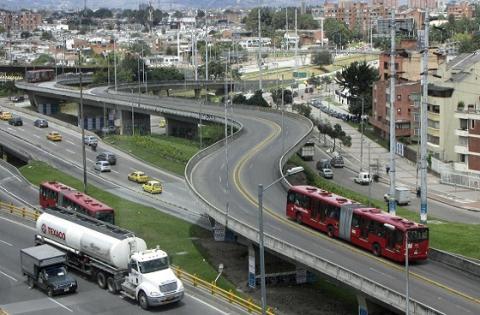 Movilidad en Bogotá - Foto: Prensa Alcaldía Mayor de Bogotá