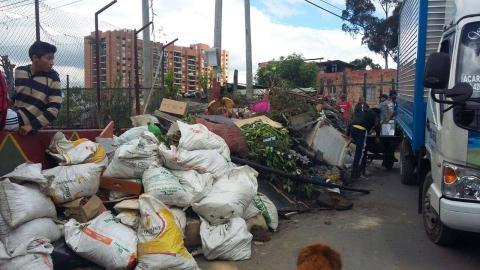 Recicladores de Usme ya cuentan con -RURO-Foto: UAESP