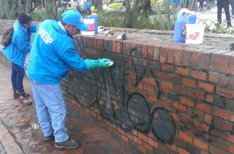El Parque de Usaquén recibió varios arreglos y mejoras.
