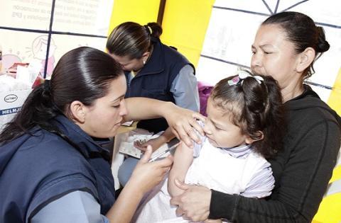 Punto de vacunación - Foto: Oficina de Prensa Alcaldía Mayor
