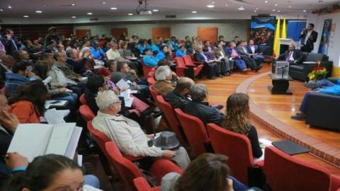 Rendición de cuentas en Teusaquillo - Foto: Veeduría Distrital