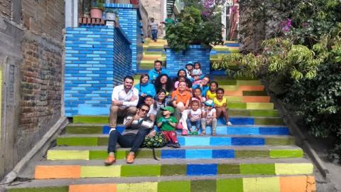 Voluntariado La Perla - Foto: Secretaría Distrital de Hábitat