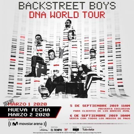 Backstreet Boys en Bogotá 2020