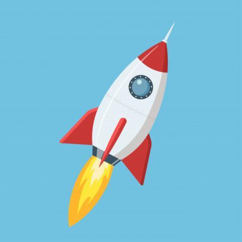 Cohetes en el Planetario al Parque