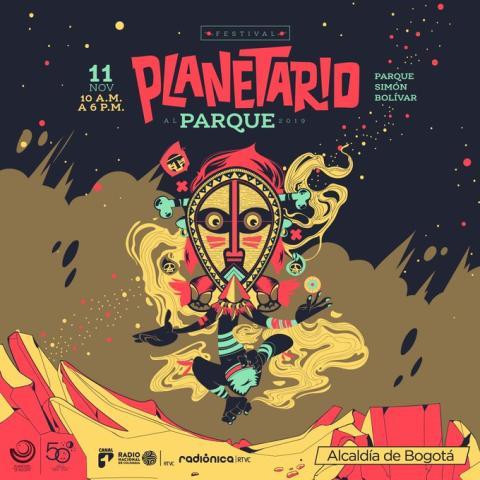 Poster Planetario al Parque