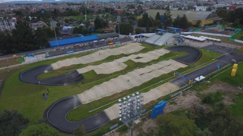 En Bogotá BMX de los Juegos Nacionales - FOTO: Prensa IDRD