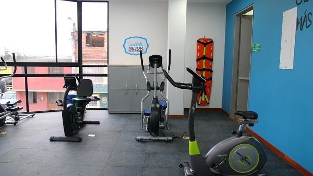 Salón de ejercicios del Centro Día