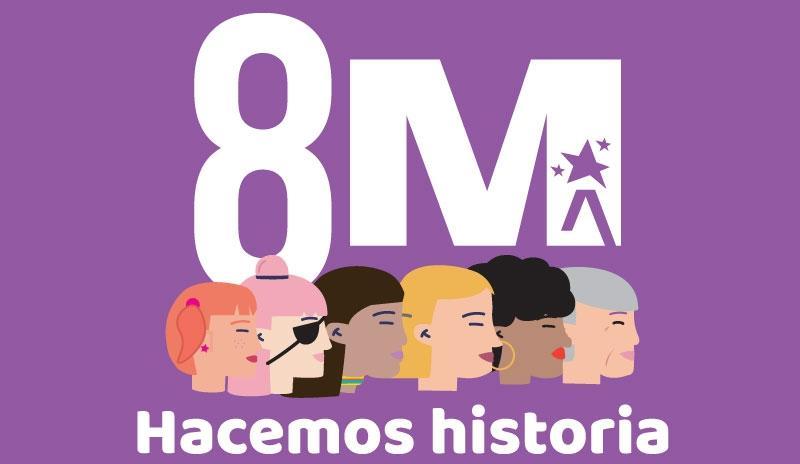 Actividades en el día internacional de la mujer en Bogotá