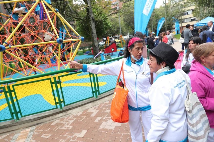 Así es el nuevo parque Japón en Chapinero - Foto: Comunicaciones Alcaldía / Diego Bauman
