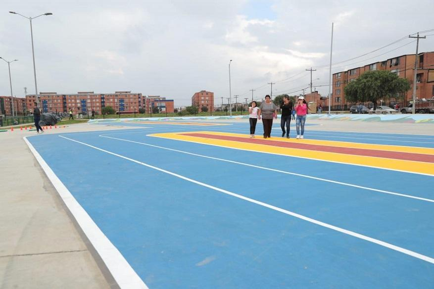 Entrega de parques y pista de patinaje en Bosa - Foto: Comunicaciones Alcaldía Bogotá / Diego Bauman