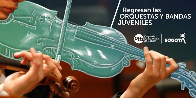 Regresan las orquestas filarmónicas juveniles