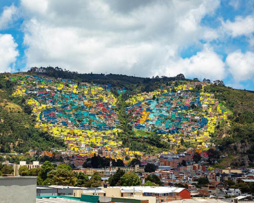 La Mariposa en los cerros orientales al norte de Bogotá - Foto: Andrés Sandoval, Alcaldía de Bogotá-
