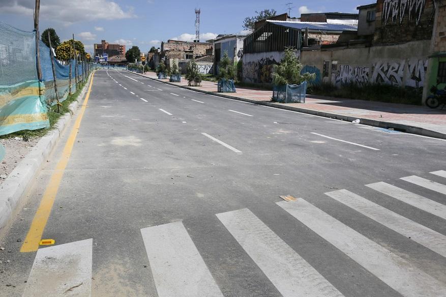 Así avanza obras de ampliación de Avenida Ferrocarril - Foto: Comunicaciones IDU