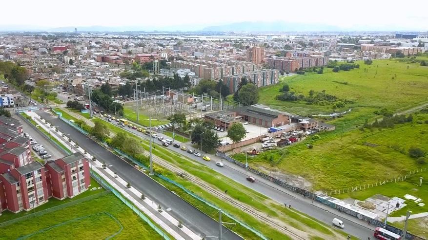  Así avanzan obras de ampliación de la Avenida Ferrocaril - Foto: Comunicaciones IDU