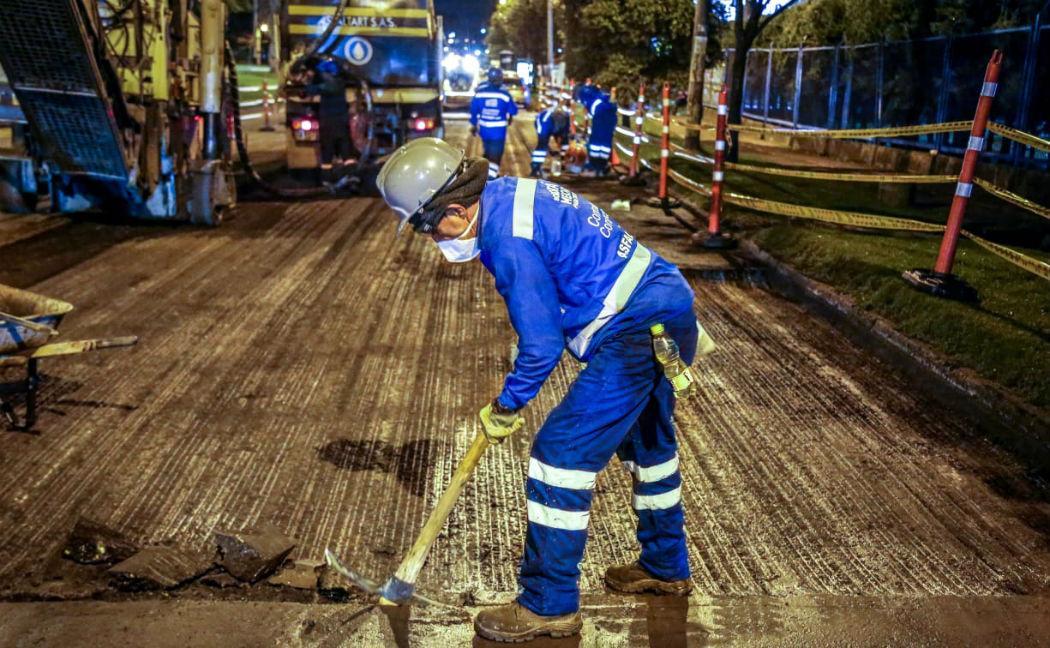 Obras viales generan miles de empleos - Foto: IDU
