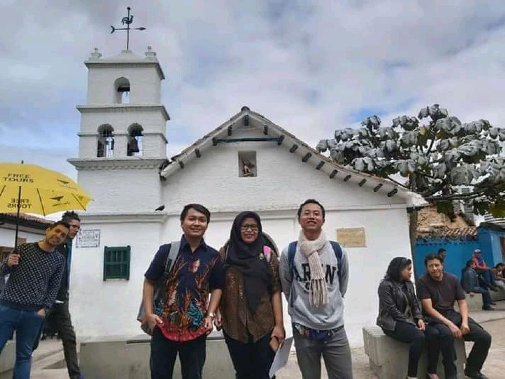 Oriza de turista en Bogotá