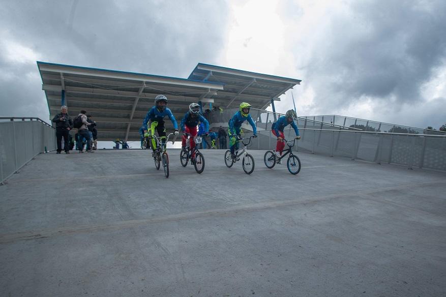 Bogotá estrena pista de BMX - Foto: Comunicaciones Alcaldía / Andrés Sandoval