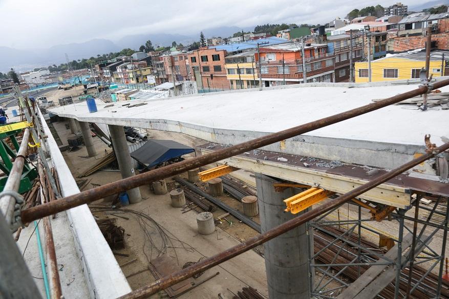 Puente vehicular de Calle 63 con Boyacá estará listo antes de finalizar el año - Foto: IDU