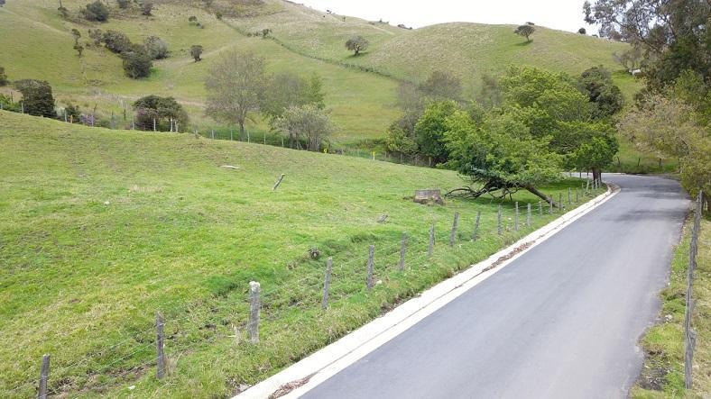 Reconstrucción vía de acceso a Sumapaz - Foto: Comunicaciones IDU