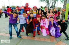 Niños disfrazados-Foto: Alcaldía Local de Engativá
