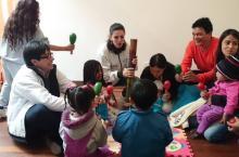 Casa de Integración Familiar - Foto: twitter.com/integracionbta