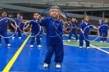 Educación física en colegios de Bogotá - Foto: bogota.gov.co