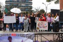 Mujeres en tarima -Foto: Alcaldía Local de Chapinero