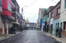 Vía intervenida-Foto: Unidad de Mantenimiento Vial (UMV)