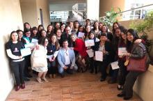 Mujeres se gradúan en temas TIC - Foto: Oficina de Prensa Alta Consejería TIC