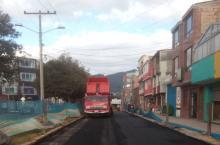 Vía intervenida - Foto: Unidad de Mantenimiento Vial (UMV)