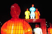 Disfrute la exhibición gratuita de 'Las linternas de los guerreros de terracota' en el Festival Iberoamericano de Teatro