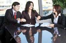 Personas conciliando - Foto: www.conciliacion.gov.co