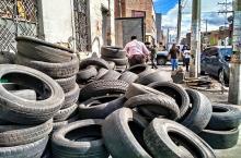 Iniciaron recorridos de recolección de llantas en el sector del Siete de Agosto de Barrios Unidos
