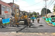 Recuperados 943,58 metros cuadrados de vía en una zona de Barrios Unidos