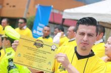 Selección amarilla de taxistas - Foto: Prensa Secretaría de Movilidad