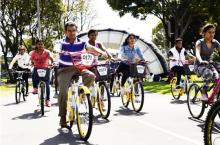 Con la entrega de un nuevo bicicorredor, Bogotá Humana continúa fomentando el uso de la bicicleta