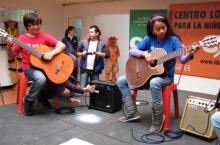 Centros de Formación Musical y Artística beneficiarán a la niñez de Bogotá