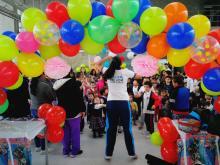 Actividad lúdica SuperCADE 20 de Julio - Foto: Secretaría General