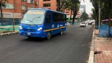 Vía recuperada - Foto: Acueducto de Bogotá