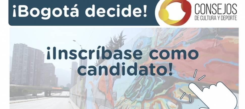 Banner Consejos artísticos distritales y locales - Foto: Secretaría de Cultura, Recreación y Deporte