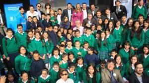 Visita al colegio Rafael Bernal Jiménez - Foto: Camilo Monsalve