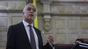 Alcalde en Congreso de la República - Foto: Prensa Alcaldía Mayor / Camilo Monsalve
