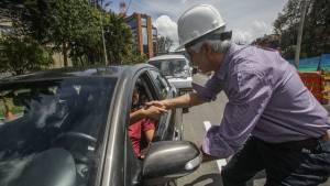 Apertura carriles Calle 94 - Foto: Prensa Alcaldía Mayor / Camilo Monsalve