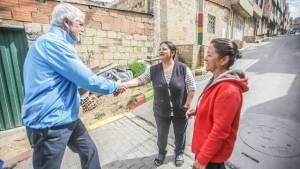 Revisión de obras en Ciudad Bolívar - Foto: Comunicaciones Alcaldía Mayor / Camilo Monsalve
