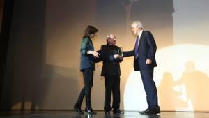 Reconocimiento maestro Carlos Villa - Foto: Prensa Alcaldía Mayor / Diego Bauman