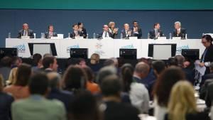 Declaración Cumbre Alcaldes respaldo paz de Colombia – Foto: Prensa Alcaldía Mayor/ Camilo Monsalve