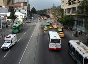 Carrera Séptima - Foto: Oficina de Prensa-Alcaldía Mayor de Bogotá