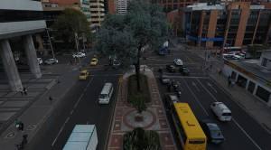 Transformación de la Calle 72 - Foto: Jardín Botánico de Bogotá